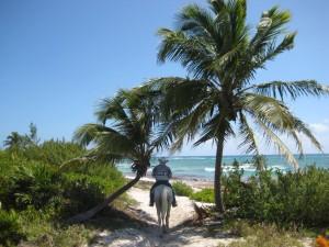 A cavallo nella Riviera Maya