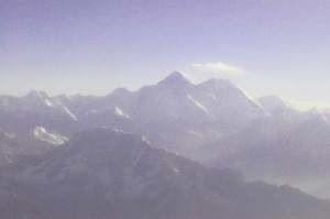 La vetta del Monte Everest!