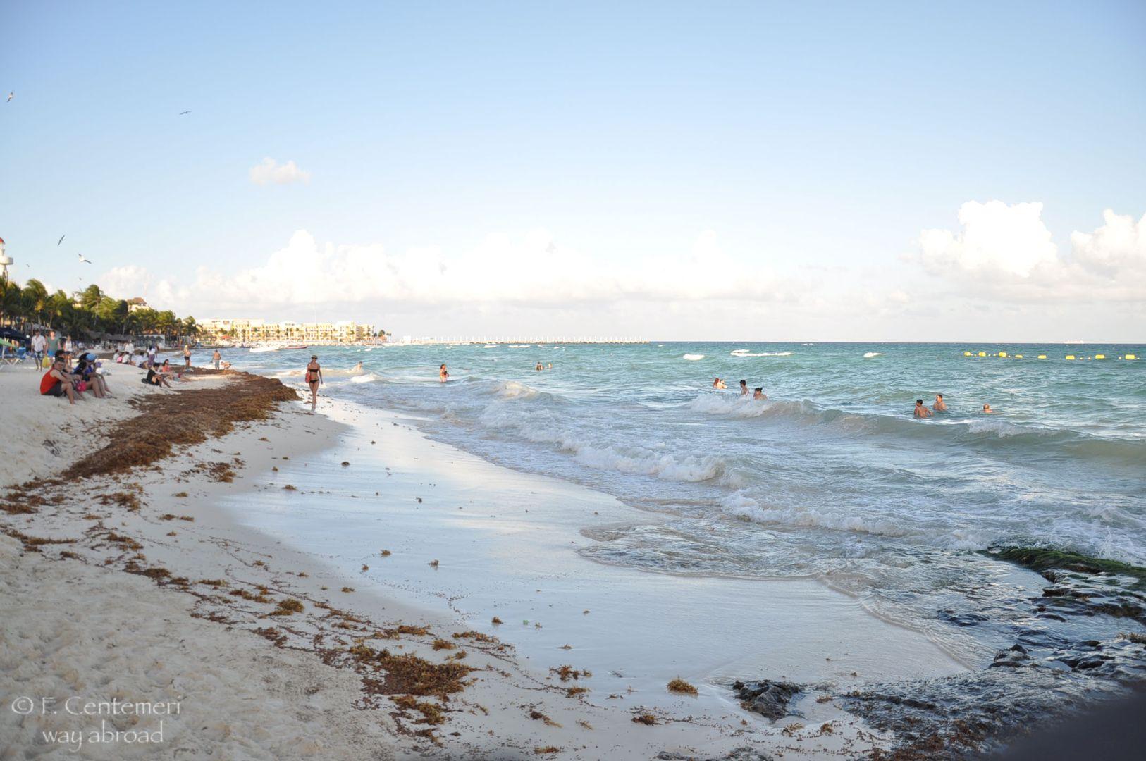 Le spiagge della Riviera Maya