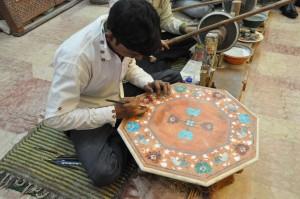 La lavorazione del marmo di Makrana