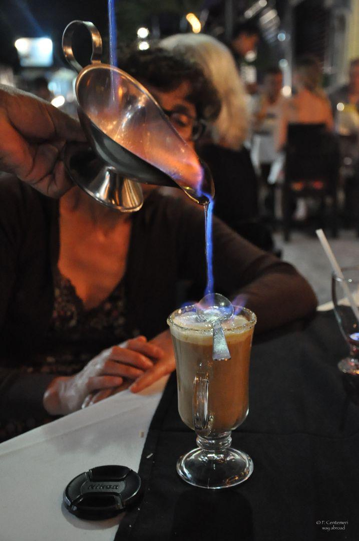 Preparazione del caffè maya