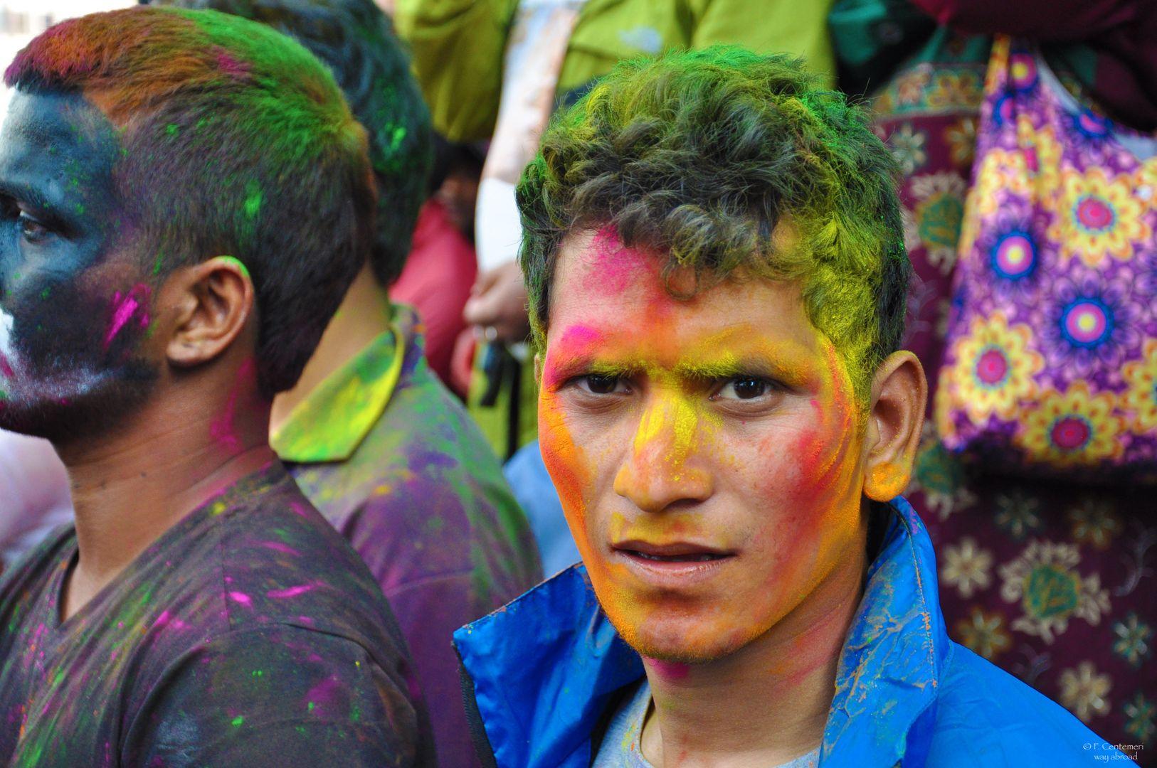 I colori dell'Holi