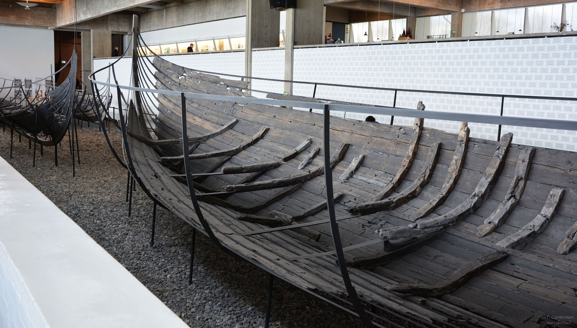 I resti di una nave vichinga