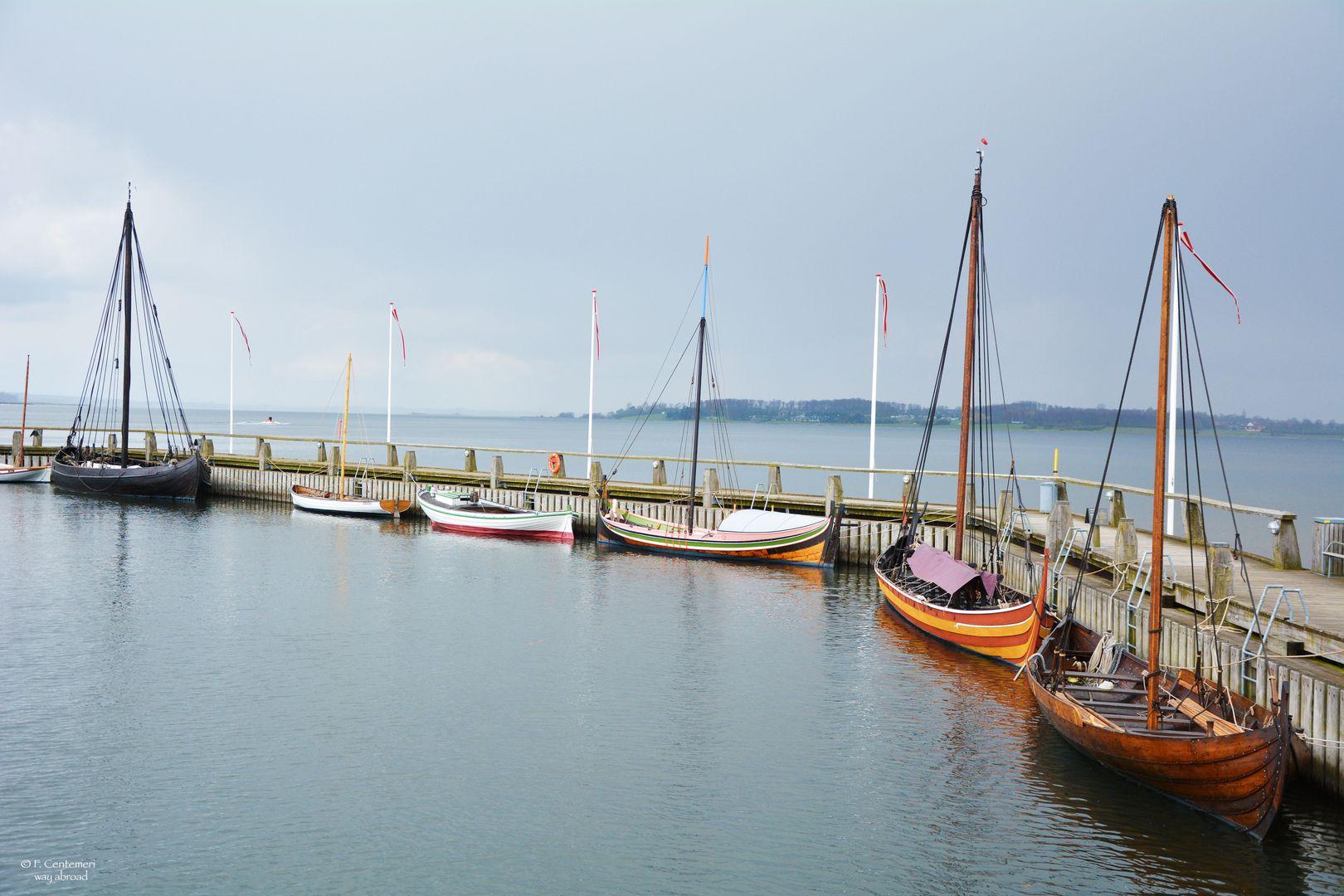 Le riproduzioni delle navi vichinghe