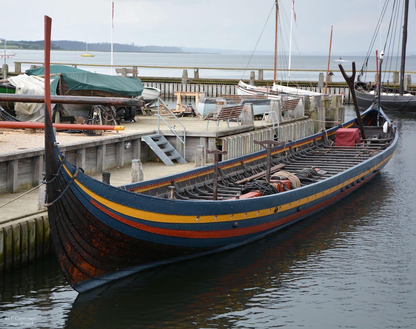 Riproduzione nave vichinga