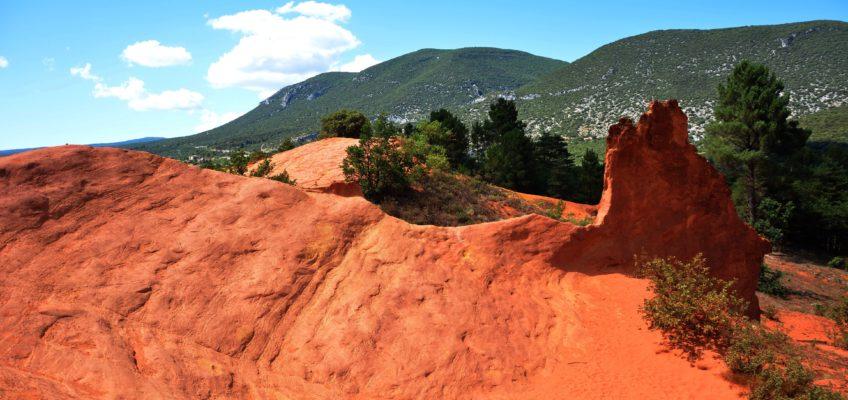 Colorado Provençal, i colori del Gran Canyon in Provenza
