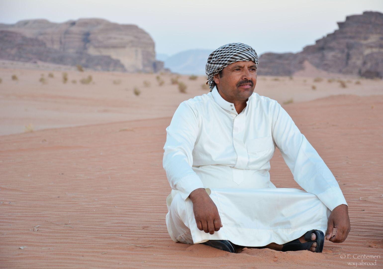 I beduini del deserto del Wudi Rum