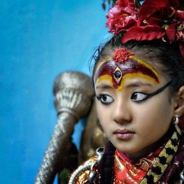 Kumari, la dea bambina del Nepal