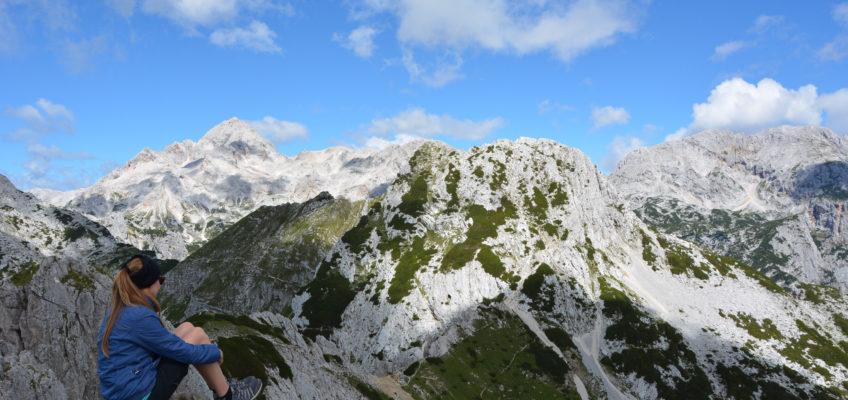 Hiking sul Monte Visevnik, al cospetto del Triglav