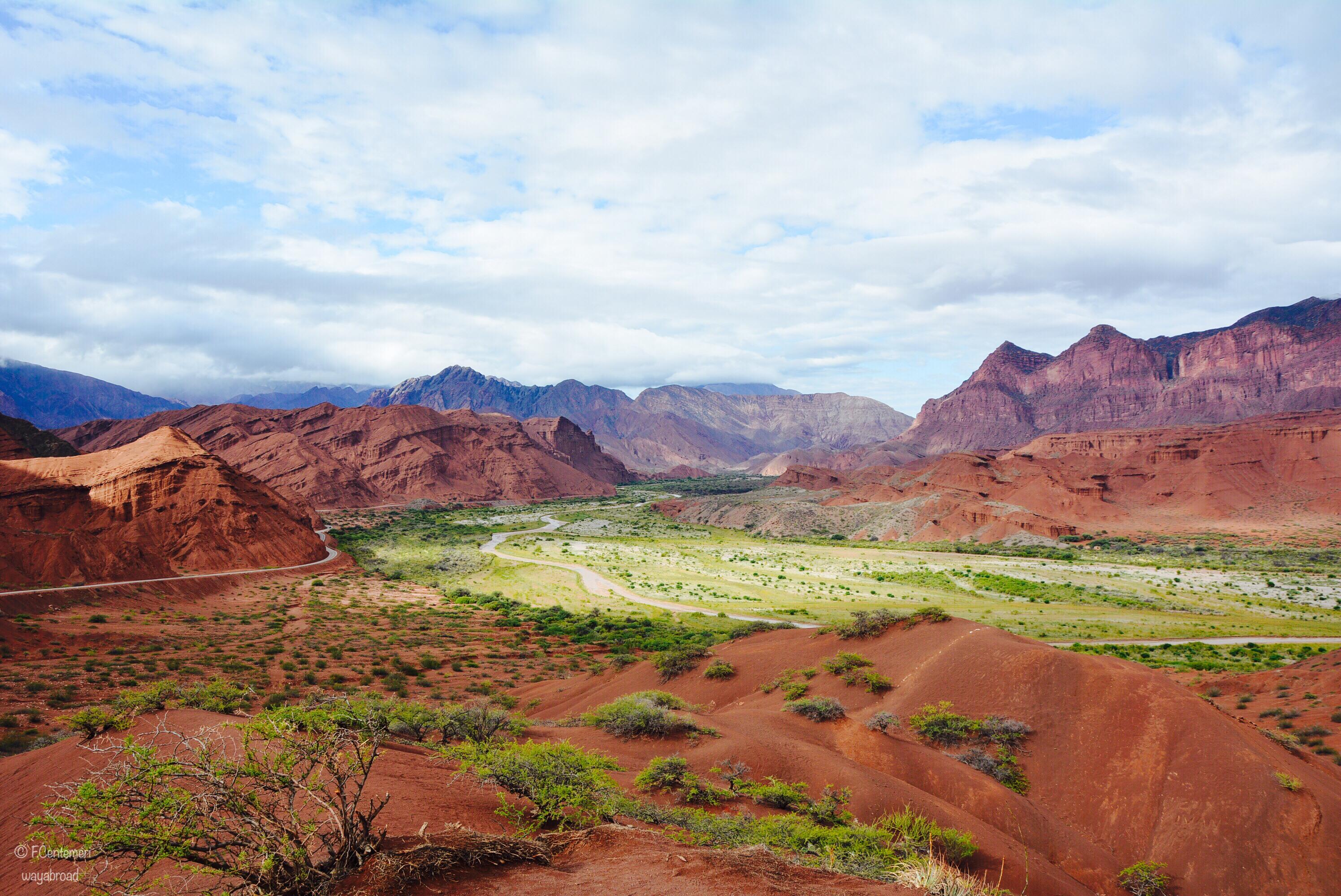La Quebrada de Las Conchas e Cafayate, l'incanto delle montagne colorate