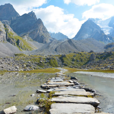 Hiking al Col de la Vanoise: il Lac des Vaches e il ghiacciaio des Grandes Couloirs