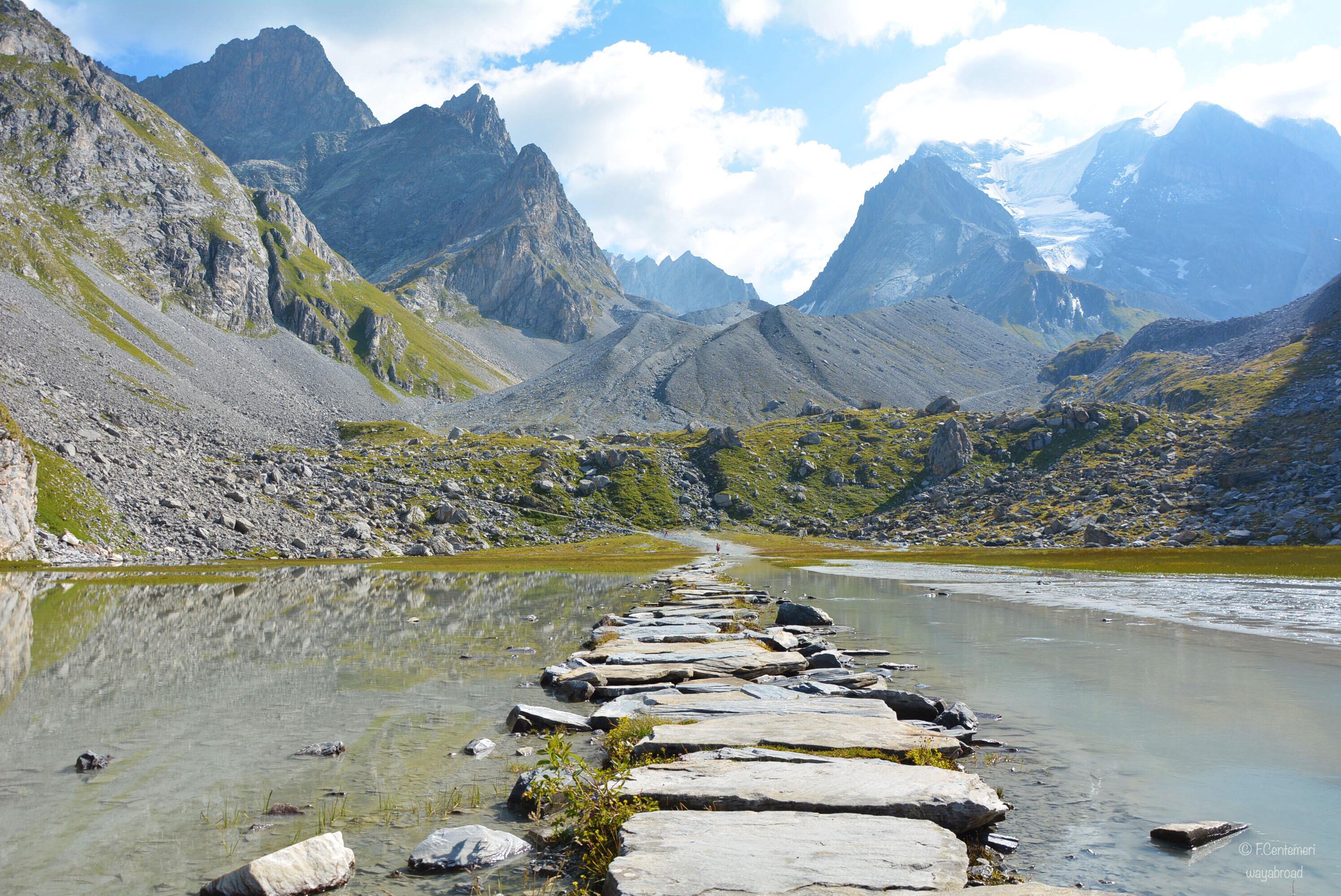 Trekking al Col de la Vanoise: il Lac des Vaches e il ghiacciaio des Grandes Couloirs