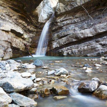 Camminare nell'Appennino: le cascate del Perino