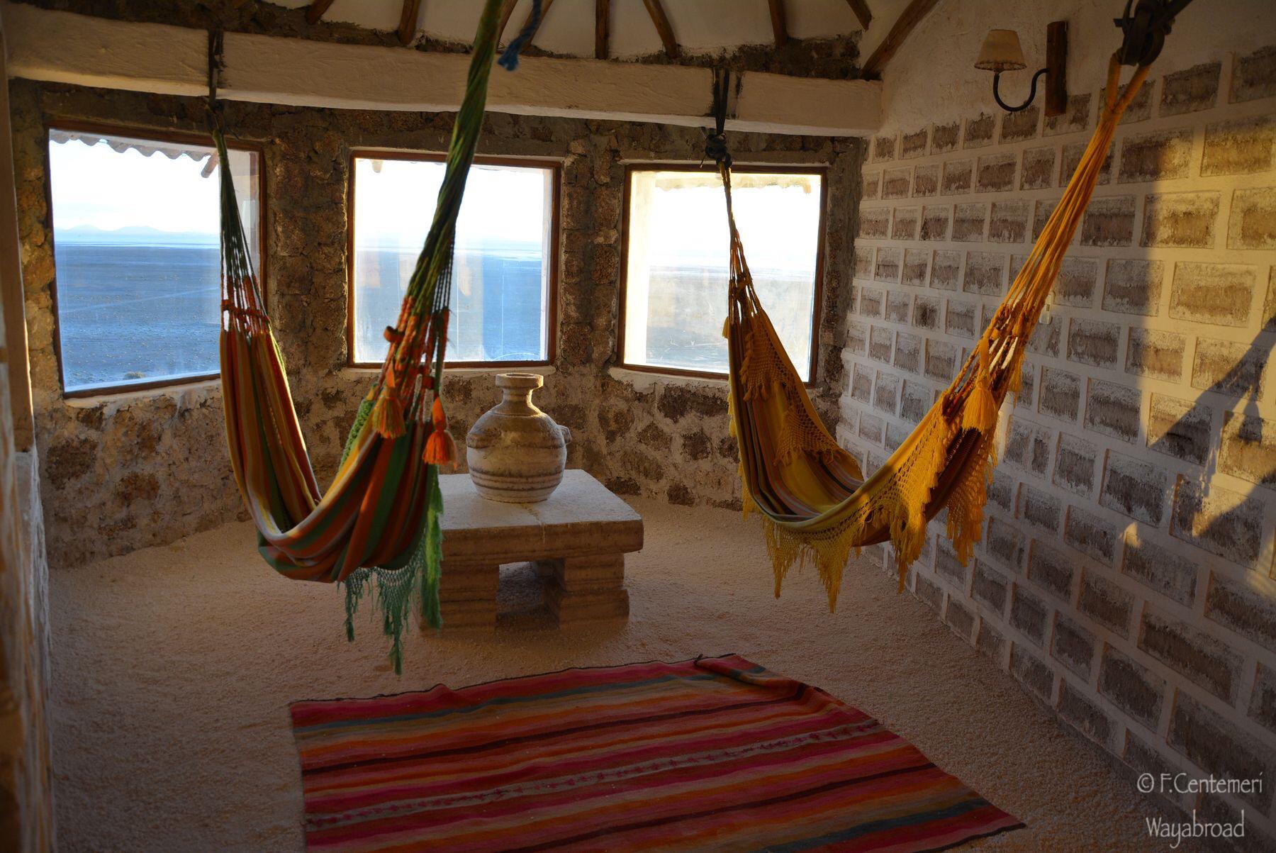 Dormire in un hotel di sale in Bolivia
