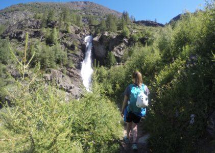 Escursione alle Cascate di Lillaz, Valle d'Aosta