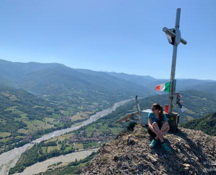 Trekking alla Croce degli alpini in Val Borbera