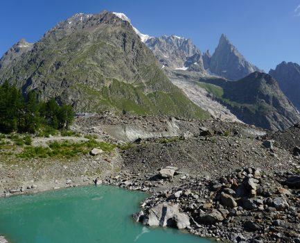 I ghiacciai del Bianco stanno scomparendo: trekking al Lago del Miage, Val Veny